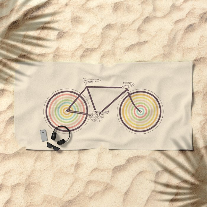Velocolor Beach Towel