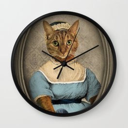 "Jane ""Paw""sten Wall Clock"