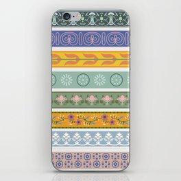 Vintage Ornament Pattern iPhone Skin