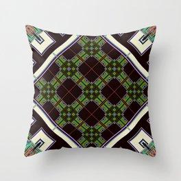 Neural Circuit Throw Pillow