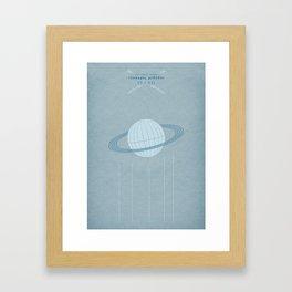 Ast Colit Astra | QUADRIVIUM - MINIMALIST POSTER Framed Art Print