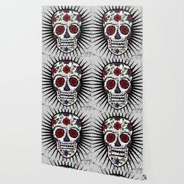 Sugar Skull Star Wallpaper