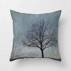 Winter Sentinel Throw Pillow