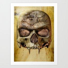 In The Eyes Of The Vampire Art Print