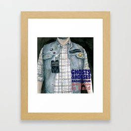 "Episode 8, ""Meeting People is Hard,"" Cover Art Framed Art Print"