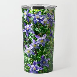 Columbines and Sunshine Travel Mug