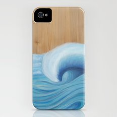 Wooden Wave Scape iPhone (4, 4s) Slim Case