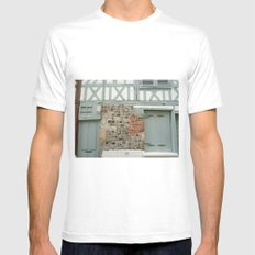 Half Timber House Mens Fitted Tee White MEDIUM