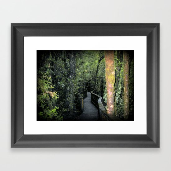 Franklin - Gordon  National Parks Framed Art Print