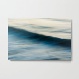 The Uniqueness of Waves X Metal Print