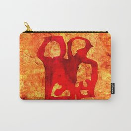 Rock Couple Carry-All Pouch