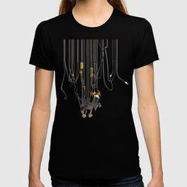 """Lili B. """"Entangled cat"""" T-shirt"""