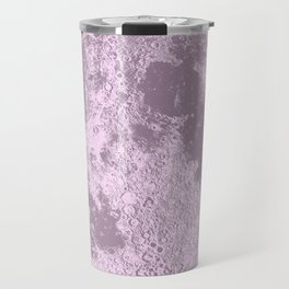 Pink Full Moon Print, by Christy Nyboer Travel Mug