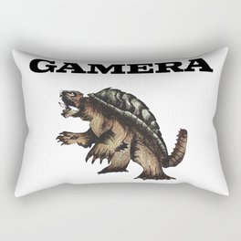 gamera Rectangular Pillow