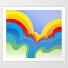 Rainbowmatic Art Print