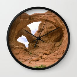 Faces of Nature Wall Clock
