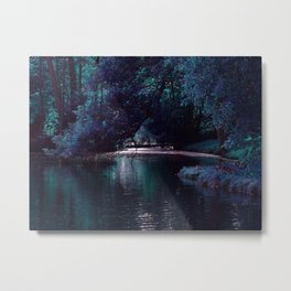 Mystical Lake Metal Print