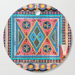 Saudi Colors Cutting Board