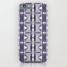 Navy and Cream Geometry Slim Case iPhone 6s