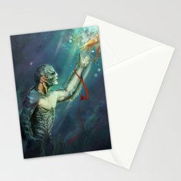 Shape of Water Stationery Cards