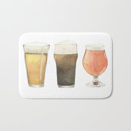 The Three Beers Bath Mat