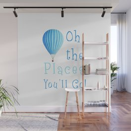 Oh The Places You'll Go Wall Mural