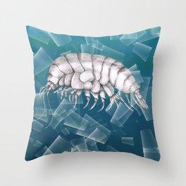 Eurythenes plasticus Throw Pillow