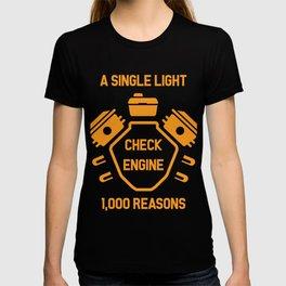 Machine Check Light Car Workshop Gift T-shirt