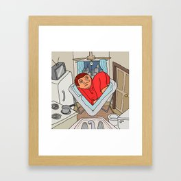 Loving NY Framed Art Print