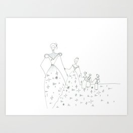 paper_4 Art Print