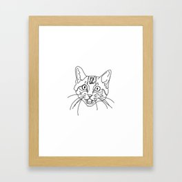 That Face My Cat Makes Framed Art Print