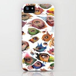 Bird's Eye iPhone Case