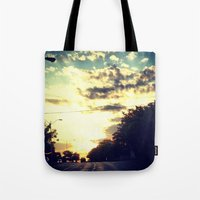 texas Tote Bags featuring Texas by Camille Renee