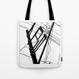 Wires #1 Tote Bag