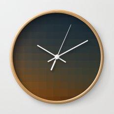 Nature Pixels - No.8 Wall Clock