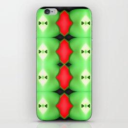 Softly plastic pattern iPhone Skin
