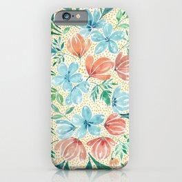 Des Fleurs iPhone Case