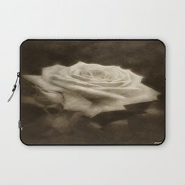 Pink Roses in Anzures 3 Antiqued Laptop Sleeve
