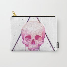 Skull in triangle Carry-All Pouch