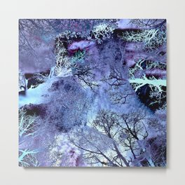 LIFE IN THE VIOLET BUSH OF GHOSTS Metal Print