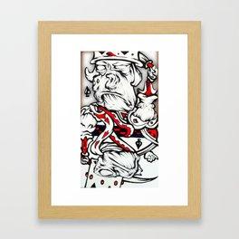 Spades Framed Art Print