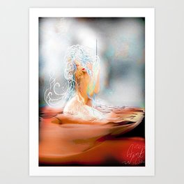 Art hold Art Print