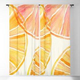Sunny Citrus Blackout Curtain