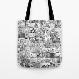Doodling Together #4 Tote Bag