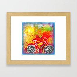 Bike version 4 Framed Art Print