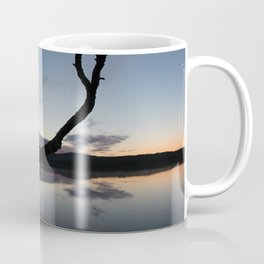 Sunset on lake, Nature Photography, Landscape Photos, sunset photos Coffee Mug