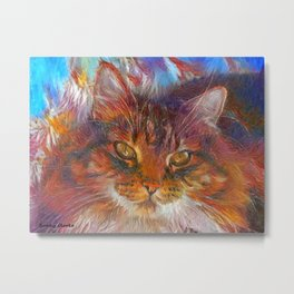 Floof Metal Print