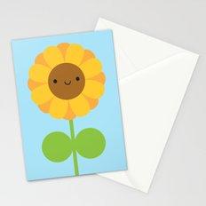 Kawaii Sunflower Stationery Cards