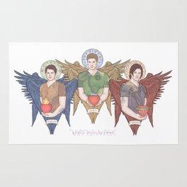 Supernatural Guardian Angels Rug