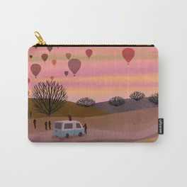 Hot Air Balloons in the Morning  Carry-All Pouch